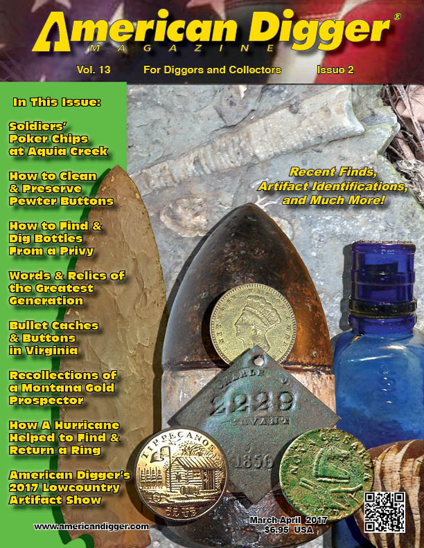 Cover of American Digger Magazine Vol. 13, Issue 2, March - April 2017