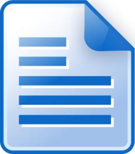 Text doc icon