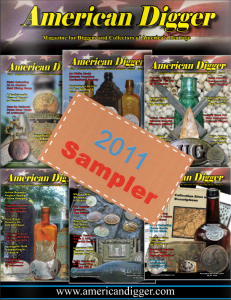 2011 American Digger Magazine Sampler