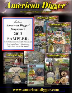 2013 American Digger Magazine Sampler