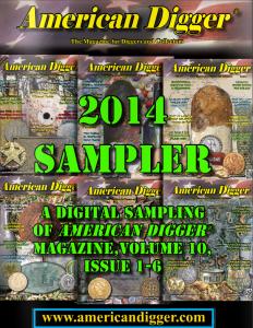 2014 American Digger Magazine Sampler