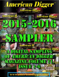 2015 American Digger Magazine Sampler