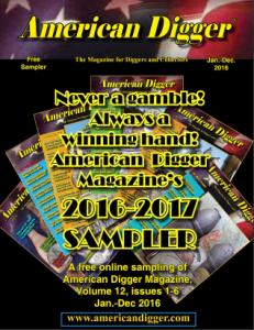 American Digger Magazine 2016 Sampler